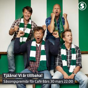 Café Bärs - vårpremiär 30 mars klockan 22:00.