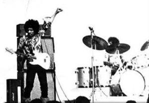 Jimi Hendrix Experience på Gröna Lunds stora scen.