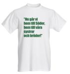 Bild på t-shirt
