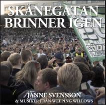 """Omslag """"Skånegatan Brinner Igen"""""""